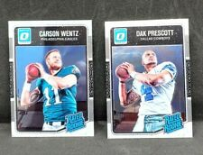 2016 Donruss Optic Dak Prescott Carson Wants Rated Rookie Card RC Lot