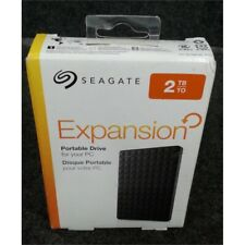 Seagate Expansion 2TB Portable USB 3.0 External Hard Drive Black STEA2000400