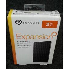 Seagate Expansion 2TB Portable USB 3.0 External Hard Drive Black STEA2000400