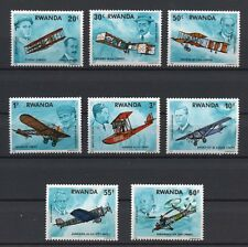 History of Aviation mnh set of 8 stamps 1978 Rwanda #885-92