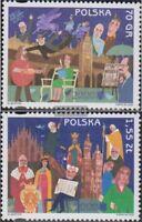 Polen 3825-3826 (kompl.Ausg.) postfrisch 2000 Krakau