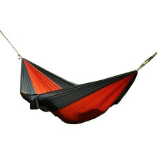 Enjoy Portable Parachute Nylon Fabric Travel Camping Hammock For Double Two