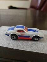 Matchbox Superfast Chevrolet Corvette Pace Car 1979 Gray Made in Macau