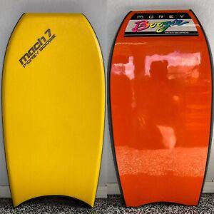 """Brand New Vintage Mach-7 Bodyboard 42"""" Boogieboard by Morey Boogie"""