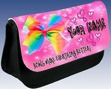 Girls Ladies JoJo Bows  Personalised Pencil Case Great School Idea Gift!