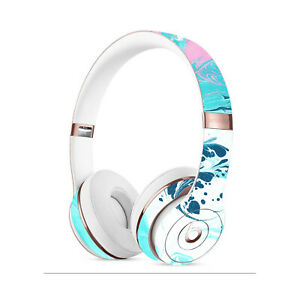 Pink Swirl MARBLE Skin BEATS SOLO PRO STUDIO 2 3 Wireless Decals Cover Stickers