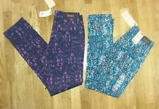 Lot of 2: Women's LEVIS Printed Mid Rise Skinny Colored Jeans - Size 4/27 - NWT