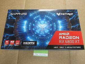 11304-02-20G  SAPPHIRE NITRO+ AMD Radeon RX 6800 XT Gaming Graphics with 16GB