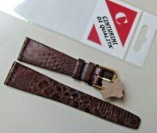 Cinturino di qualità vera pelle mod. vintage antiallergico correa montre 20 mm