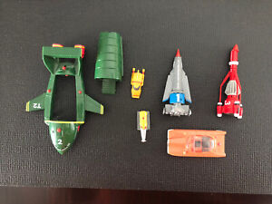 thunderbirds toy set carlton 2000 1 2 3 4 and Penelope Car W Sound Effects