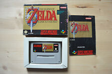SNES - The Legend of Zelda: A Link to the Past - (OVP, mit Anleitung)
