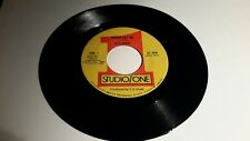 "reggae 7"" vinyl- SLIM SMITH-NEVER LET GO / VERSION -STUDIO ONE"