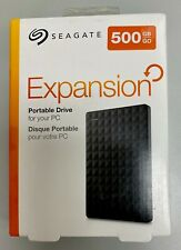 Seagate 500GB Expansion Portable External Hard Drive Windows USB 3.0