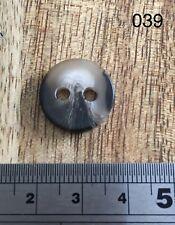 Marron chiné boutons 17 mm Lot de 5
