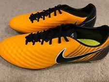 834c2012e Nike Mens Magista Opus II SG-Pro Metal Soccer Cleats Size 13 Gold Black