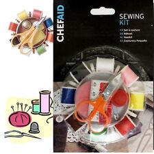 KIT da Cucito 8 REEL Susan Filo Lavoro Artigianale a Mano DITALE A Forbice Pin Nastro di viaggio