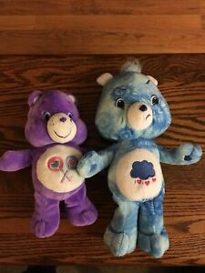 Grumpy Bear 2007 New Care Bears Tie Dye Special Edition And Lollipops