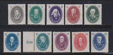 Briefmarken der DDR (1949-1990) als Satz mit Wissenschafts-Motiv