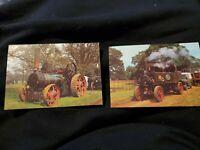 Vtg 1950's Ferguson 35 Farm Tractor Advertising Go Years Ahead Postcard Unposted