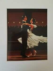 Jack Vettriano Take this Waltz Mounted Art Print Special Offer NEW