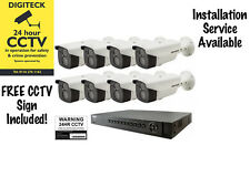 4 Camera Hikvision TVI 1080p HD CCTV System with 50m IR and 1TB DVR