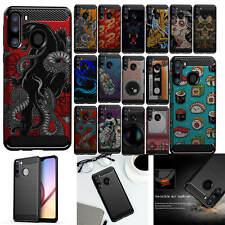 For [Samsung Galaxy A21][Flex TPU Fiber SET10] Shock Slim Flexible Case
