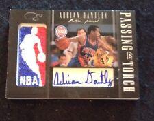 2010-11 Black Box Elite Adrian Dantley Greg Monroe DUAL NBA LOGOMAN AUTO 41/149
