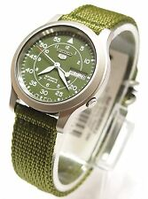 SNK805 Military Style Automatic Men's Green Watch SNK805K2 New SEIKO 5