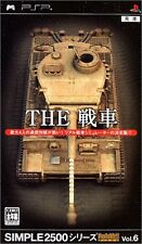 USED Simple 2500 Series Portable Vol. 6: The Tank Japan Import Sony PSP
