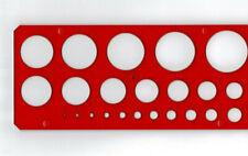 Kreisschablone 1-36 mm dt. Herst...