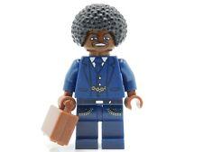 Lego Minifigure African American Businessman briefcase