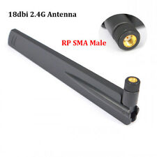 2.4Ghz WIFI Antenna RP SMA Male Universal 3/4G LTE Amplifier WLAN Router Antenne