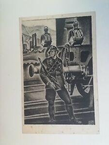 Cartolina Associazione nazionale Ferrovieri Numero 6 Apolloni