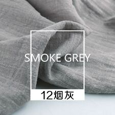Cotton Linen Fabric Organic Eco Pure Natural Flax Cambric DIY Craft 39