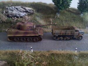 Roco 1:87 Fahrzeuge Tiger I & Lkw Maultier der Wehrmacht ohne OVP