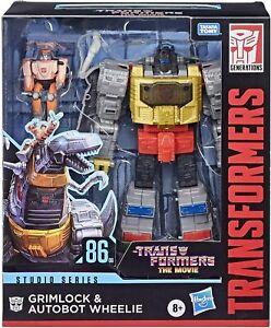 "Transformers Studios Series 8""Figure Leader 2021 Wave 1 Grimlock 86-06 IN STOCK"