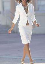 Monroe and Main Diamond Girl Skirt Suit NEW size 12 2-piece Jacket