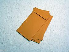 "50 2.25""x 3.50"" Paper Coin Envelopes Kraft Acid Free"