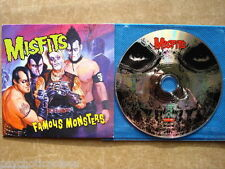 Misfits-Famous Monsters Advanced CD rodarunner rr promo 442