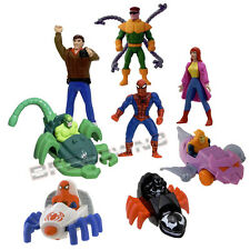 McDonald's 1995 SPIDER-MAN Animated 8-pc figure HAPPY MEAL