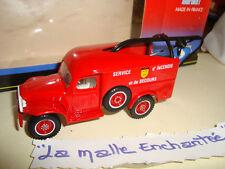 Peugeot4x4 P4 de bomberos solido 2181 1/43(sdi) HT Pyrenees