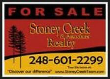 "Real Estate Jobsite Aluminum Signs. Fifty (50) -18""x24"" size"