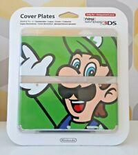 NEW Nintendo 3DS Cover Plates Official Nintendo Case Luigi Mario