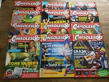 lot de 12 magazines jeux video consoles + année 1998 72 a 83 BE VF
