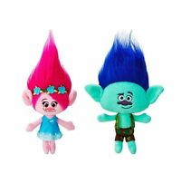 Hot Movie Trolls Large Poppy Branch Hug 'N Plush Doll Kids Xmas Gifts Toys 24cm