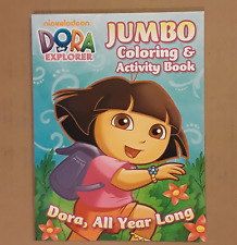 Nickelodeon Dora the Explorer craft Coloring & Activity book   8 by 10 1/2  in