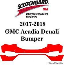 3M Scotchgard Paint Protection Film Pro Series Clear 2017 2018 GMC Acadia Denali