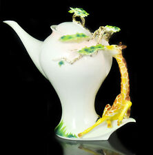 Ceramic Porcelain Giraffe Coffee Milk Tea Pot Jug Jar Wedding Christmas Gift