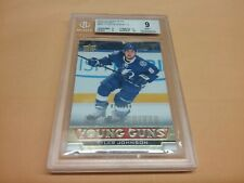 2013-14 UD Young Guns TYLER JOHNSON Exclusives 014/100 BGS GRADE 9