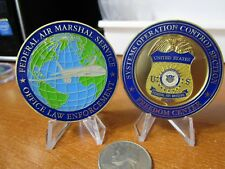 Federal Air Marshal System Operation Control Center FAMS SOCS  Challenge Coin A